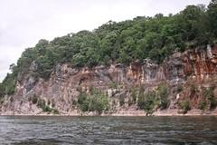Sedimentary rock cliff [01]