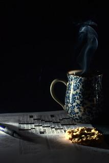 Coffee, cookies, crosswords & Covid