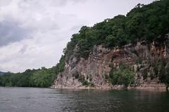 Sedimentary rock cliff [02]
