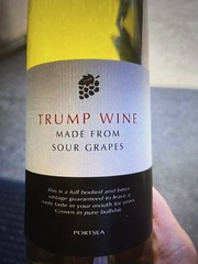 Trump Wine, made from Sour Grapes 2020