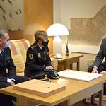 21-1-2021 Visita de Marisol Conde Cap Policia Generalitat