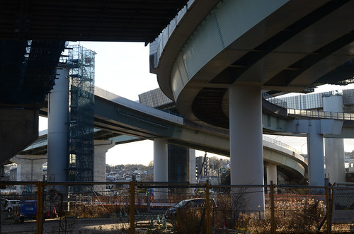 Yokohama Aoba Interchange in 2019 February: 6