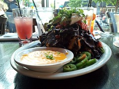 Nachos from Busboys and Poets