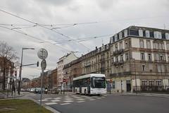 Irizar ie bus n°449  -  Strasbourg, CTS
