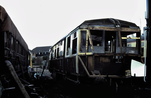 Photo:90-281  Ex GWR Railcar No. 20 at Tenterden - two of two By Clive G'