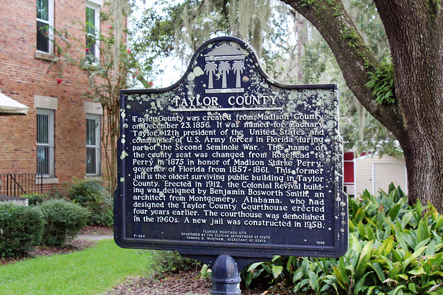 Photo:Taylor County Historical Marker, Perry By StevenM_61