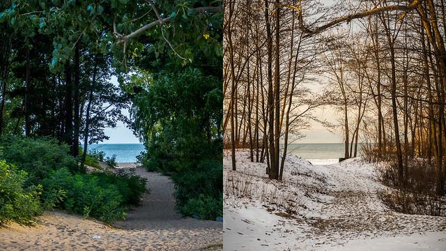 Photo:summer/winter By wwnorm