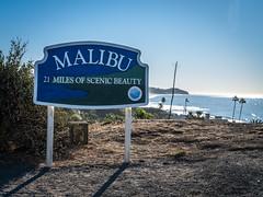 Malibu Sign 27 Miles of Scenic Beauty Zuma Beach Point Dume Southern California Fuji GFX100 Fine Art Landscape Photography! Elliot McGucken Ocean Art Seascape Landscape Nature Photography!