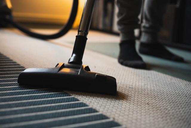 Photo:Vacuuming the Floor By Lakeland Furniture