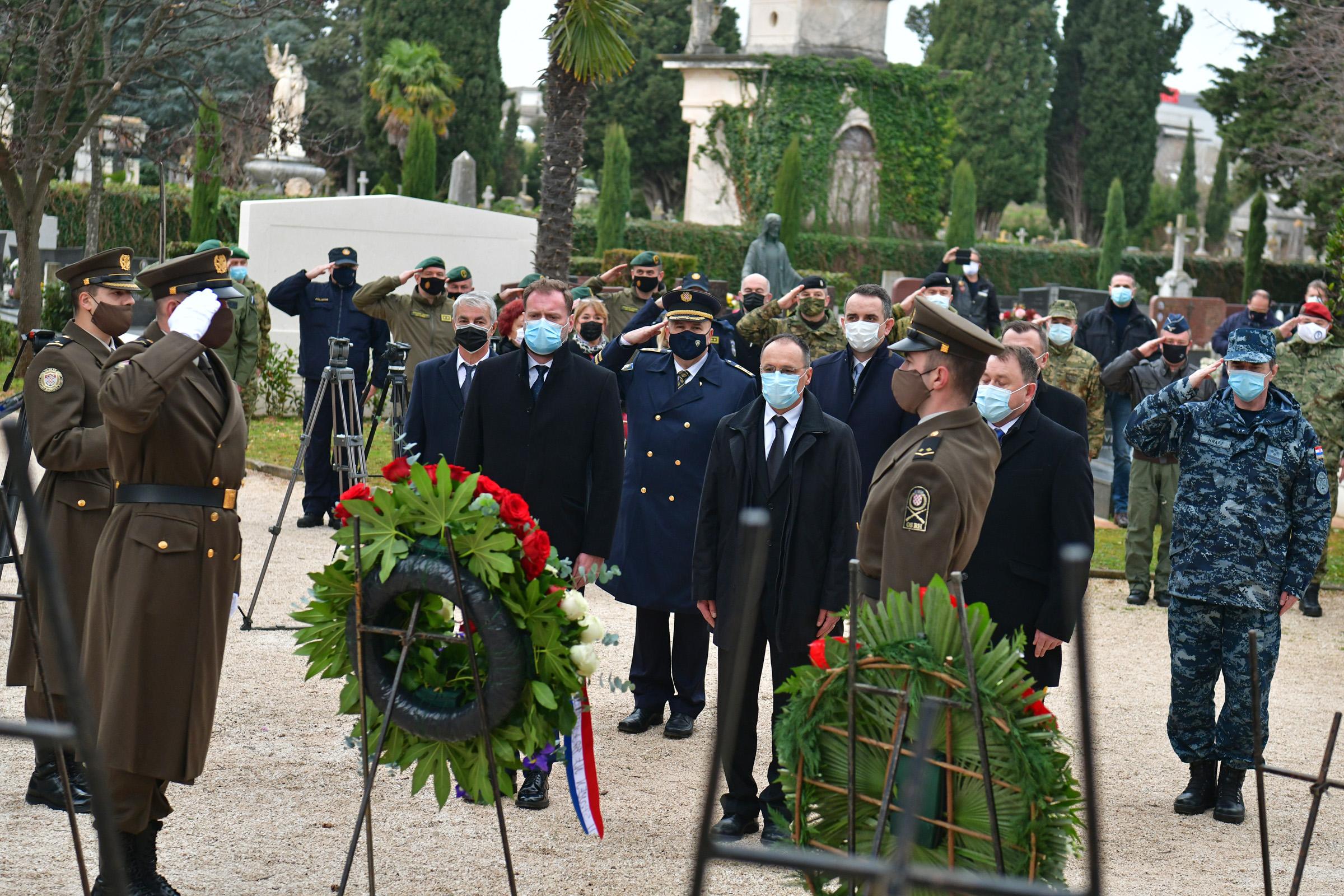 Ministar Banožić na 28. obljetnici operacije Maslenica '93