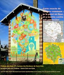 GARE CHÂTEAU-St-Clair-SUR-EPTE, NORMANDIE