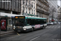 Irisbus Agora Line – RATP (Régie Autonome des Transports Parisiens) / STIF (Syndicat des Transports d'Île-de-France) n°8161