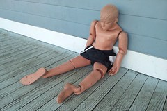Lifesaving dummy at Chesapeake Beach Water Park