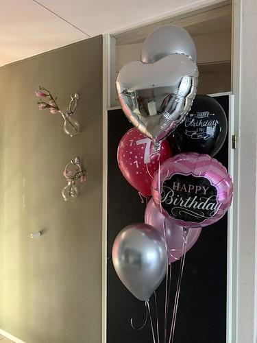 Ballonboeket Verjaardag 7 Jaar