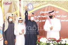 تتويج الفائزين بأشواط سباق الهجن التراثي بمهرجان الأمير الوالد 23-1-2021