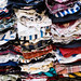 New Delhi, India - November 17, 2019: Shirts for sale at Nehru Place market in South Delhi India, which is better known for its electornic items for sale