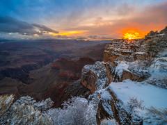 Grand Canyon National Park South Rim Winter Snow Fuji GFX100 Fine Art Landscape Photography! Elliot McGucken Fine Art American West Landscape Nature Photography! Master Medium Format Fine Art Photographer! Fujifilm GFX 100 & Fujifilm FUJINON Lens!