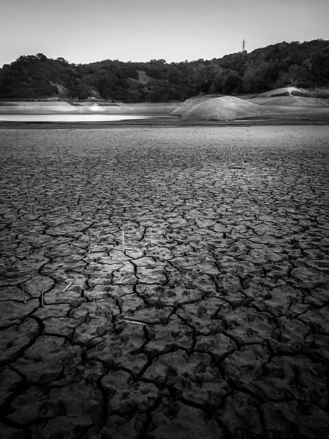 Photo:On the Lakebed, Looking East By Crowbard!