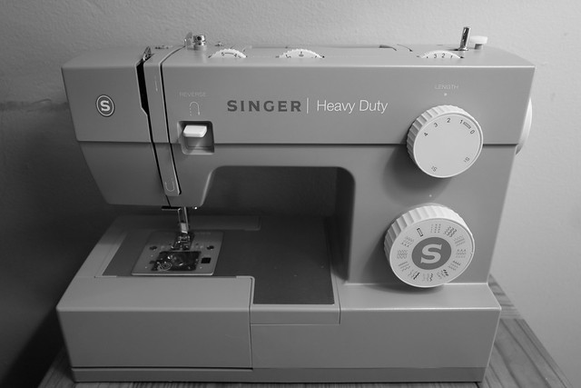 Photo:Singer Heavy Duty 4432 Sewing Machine and Dials By Joe Wilcox