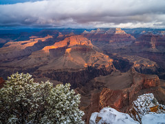 Sunrise Hopi Point Grand Canyon National Park South Rim Winter Snow Fuji GFX100 Fine Art Landscape Photography! Elliot McGucken Fine Art American West Landscape Nature! Master Medium Format Fine Art Photographer! Fujifilm GFX 100 & Fujifilm FUJINON Lens!