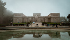 Reflecting pool at the Legion of Honor