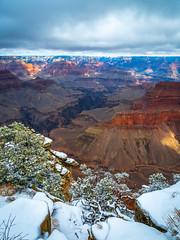Grand Canyon National Park South Rim Winter Snow Fuji GFX100 Arizona Fine Art Landscape Photography! Elliot McGucken Fine Art GCNP American West Landscape Nature Photography! Master Medium Format Fine Art Photographer! Fujifilm GFX 100 & Fujifilm FUJINON
