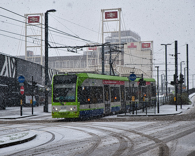 Photo:Tram By Croydon Clicker