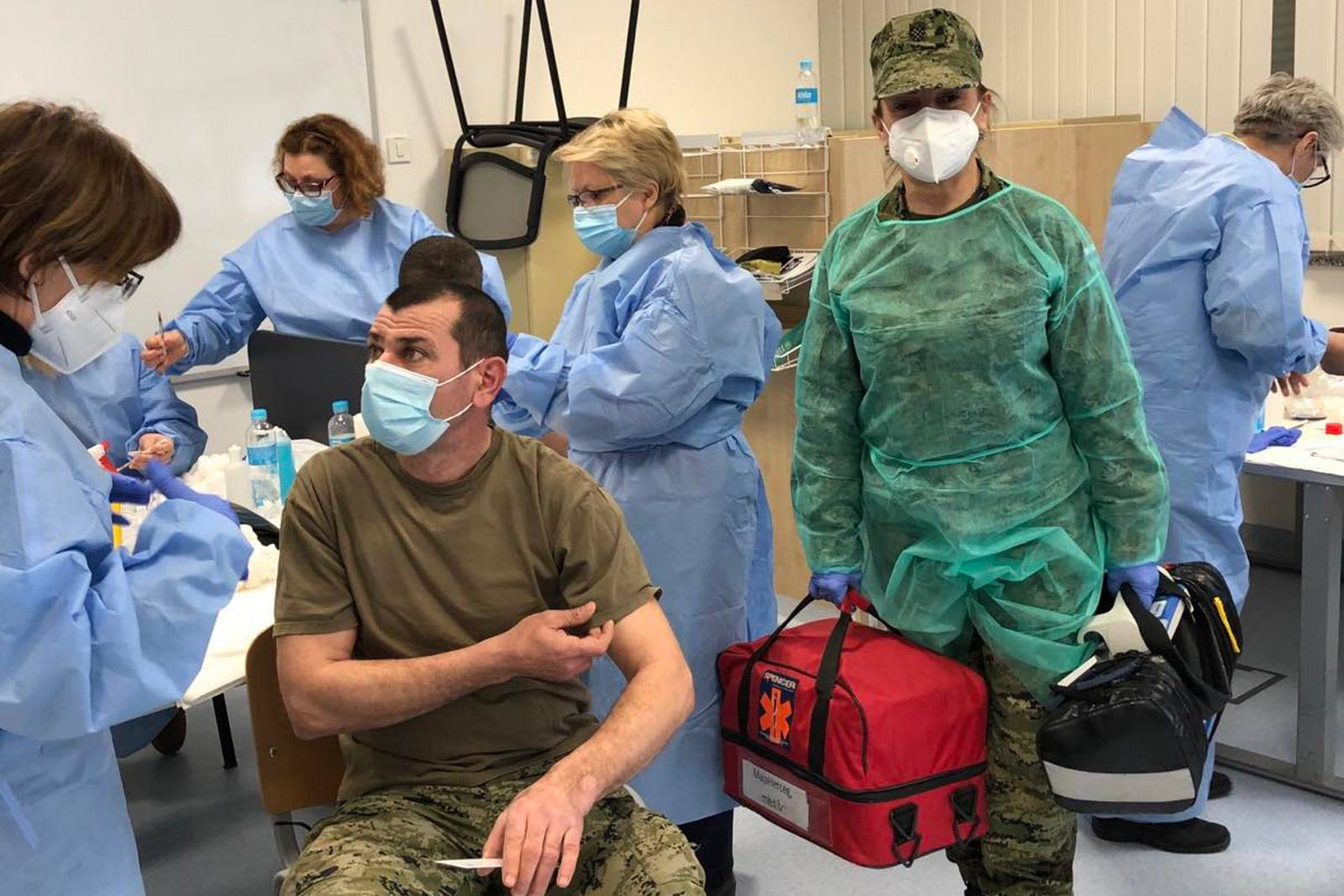 Provedeno cijepljenje u vojarni