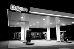 Exxon station in King George, Virginia [02]