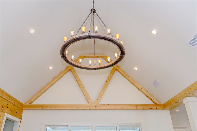 Photo:422 Pleasure Point Rd beautiful light fixture and pine trim By LakeMartinVoice
