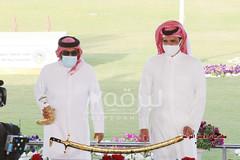 تتويج الفائزين برموز الجذاع (الأشواط المفتوحة) مهرجان الأمير الوالد ٢٧-١-٢٠٢١