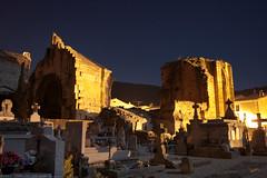 FR11 5934 L'abbaye bénédictine Notre-Dame d'Alet (Xe siècle) & cimetière paroissial. Alet-les-Bains, Aude - Photo of La Digne-d'Amont