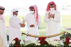 تتويج الفائزين برموز الحيل والزمول (الأشواط المفتوحة) مهرجان الأمير الوالد ٢٧-١-٢٠٢١