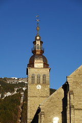 Clocher @ Église Notre-Dame de l'Assomption @ Le Grand-Bornand