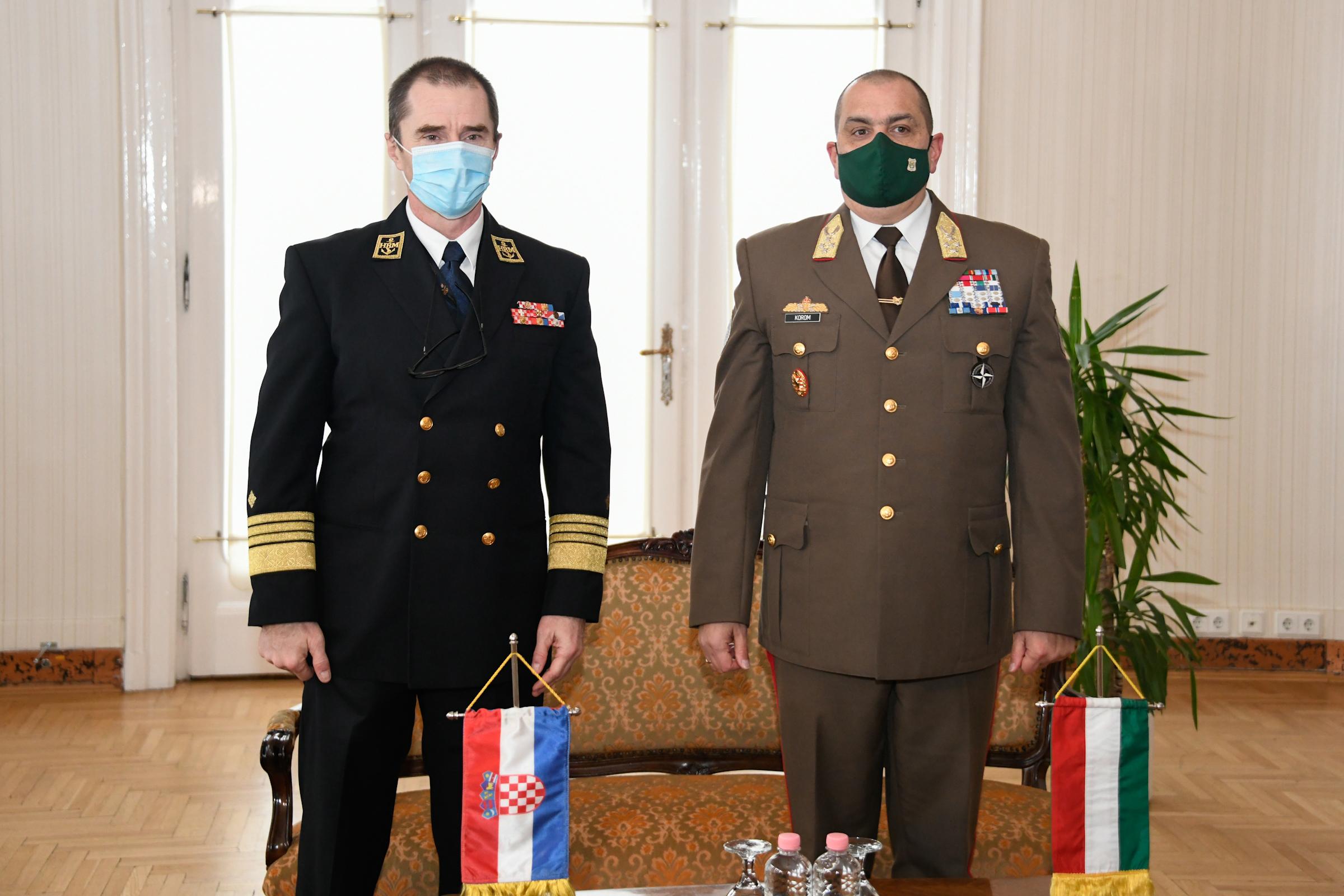 Načelnik GS OSRH u službenom posjetu Mađarskoj