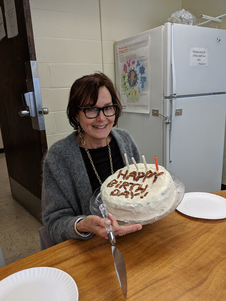 Lynne's Birthday, March 2019