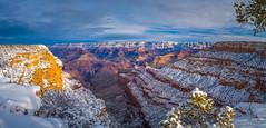 Epic Large Panorama Grand Canyon National Park South Rim Winter Snow Fuji GFX100 Arizona Fine Art Landscape Photography! Elliot McGucken Fine Art GCNP American West Landscape Nature Photography! Fujifilm GFX 100 & Fujifilm FUJINON Lens!!