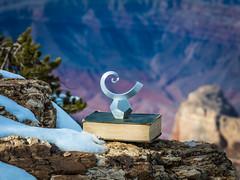 McGucken Spiral Galaxy Wave Spacetime Sculpture dx4/dt=ic! Grand Canyon National Park South Rim Winter Snow Fuji GFX100 Arizona Fine Art Landscape Photography! Elliot McGucken Fine Art GCNP American West Landscape Nature Photography! Master Medium Format