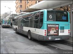 Irisbus Citélis Line – RATP (Régie Autonome des Transports Parisiens) / STIF (Syndicat des Transports d'Île-de-France) n°3565