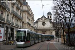 Alstom Citadis 402 – SEMITAG (Société d'Économie Mixte des Transports de l'Agglomération Grenobloise) / TAG (Transports de l'Agglomération Grenobloise) n°6011