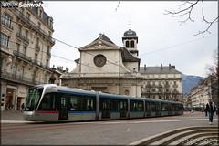 Alstom Citadis 402 – SEMITAG (Société d'Économie Mixte des Transports de l'Agglomération Grenobloise) / TAG (Transports de l'Agglomération Grenobloise) n°6031