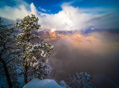 Yavapai Point Storm Grand Canyon National Park South Rim Winter Snow Fuji GFX100 Arizona Fine Art Landscape Photography! McGucken Fine Art GCNP American West Landscape Nature Photography! Master Medium Format Fine Art Photographer! Fujifilm GFX 100