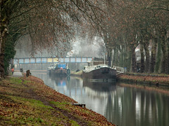Boat and canal