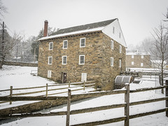 Peirce Mill in Snow