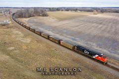 CN 2858 | GE ES44AC | CN Yazoo Subdivision