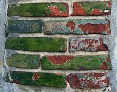 Glazed bricks of Pré-d'Auge
