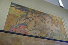 Carte de la Suisse @ Hall @ Gare de Genève-Cornavin @ Genève