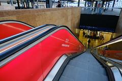 Escalator @ Gare de Genève-Cornavin @ Genève