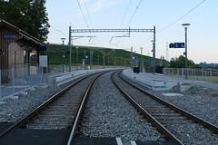 Passage à niveau @ Gare de Russin