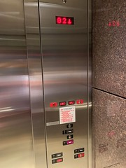 KONE elevator at the Airport